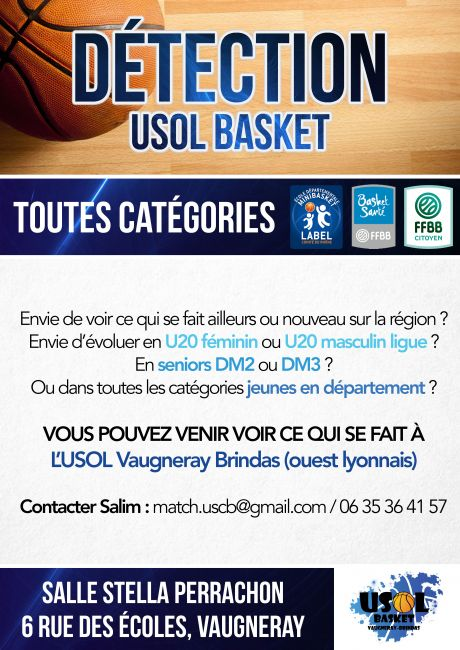 Détection USOL Basket