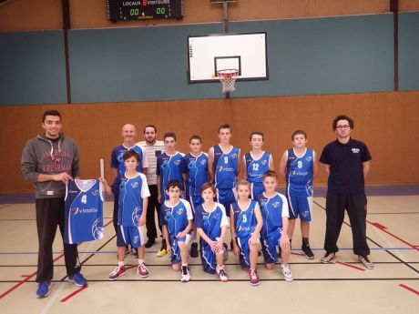 Remise maillots U13